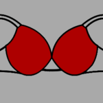 Different Parts of Brassiere (Generally known as Bra).