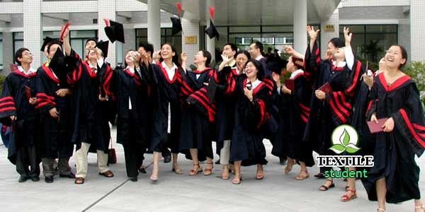 Textile engineering university's in China