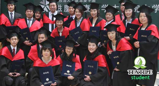 Textile engineering university's in Japan.