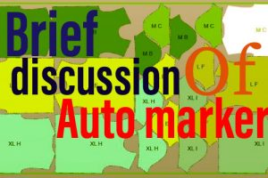 Brief discussion of auto marker & making process